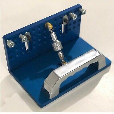 Tr Maker Belt Grinder Adjustable Knife Grinding Jig  Blue Color Free Shipping