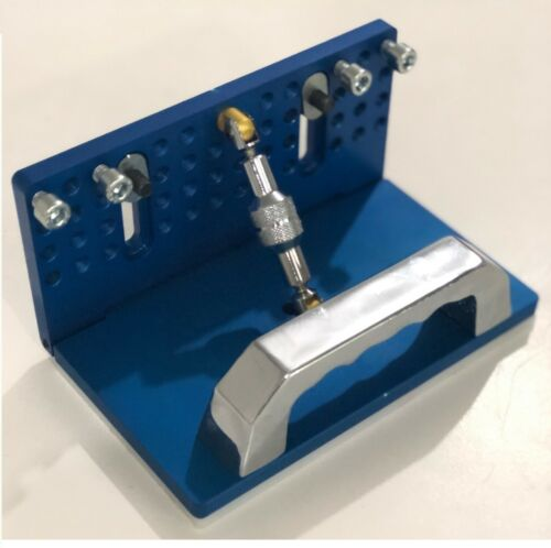 TR Maker Belt Grinder /Adjustable Knife Grinding Jig BLUE Color EXPRES SHIPPING