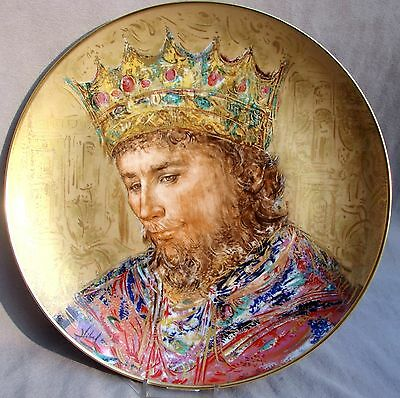 EDNA HIBEL plate DAVID the KING -- MINT!