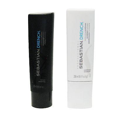 (Sebastian Drench Moisturizing Shampoo and Conditioner Duo 8.4 OZ )