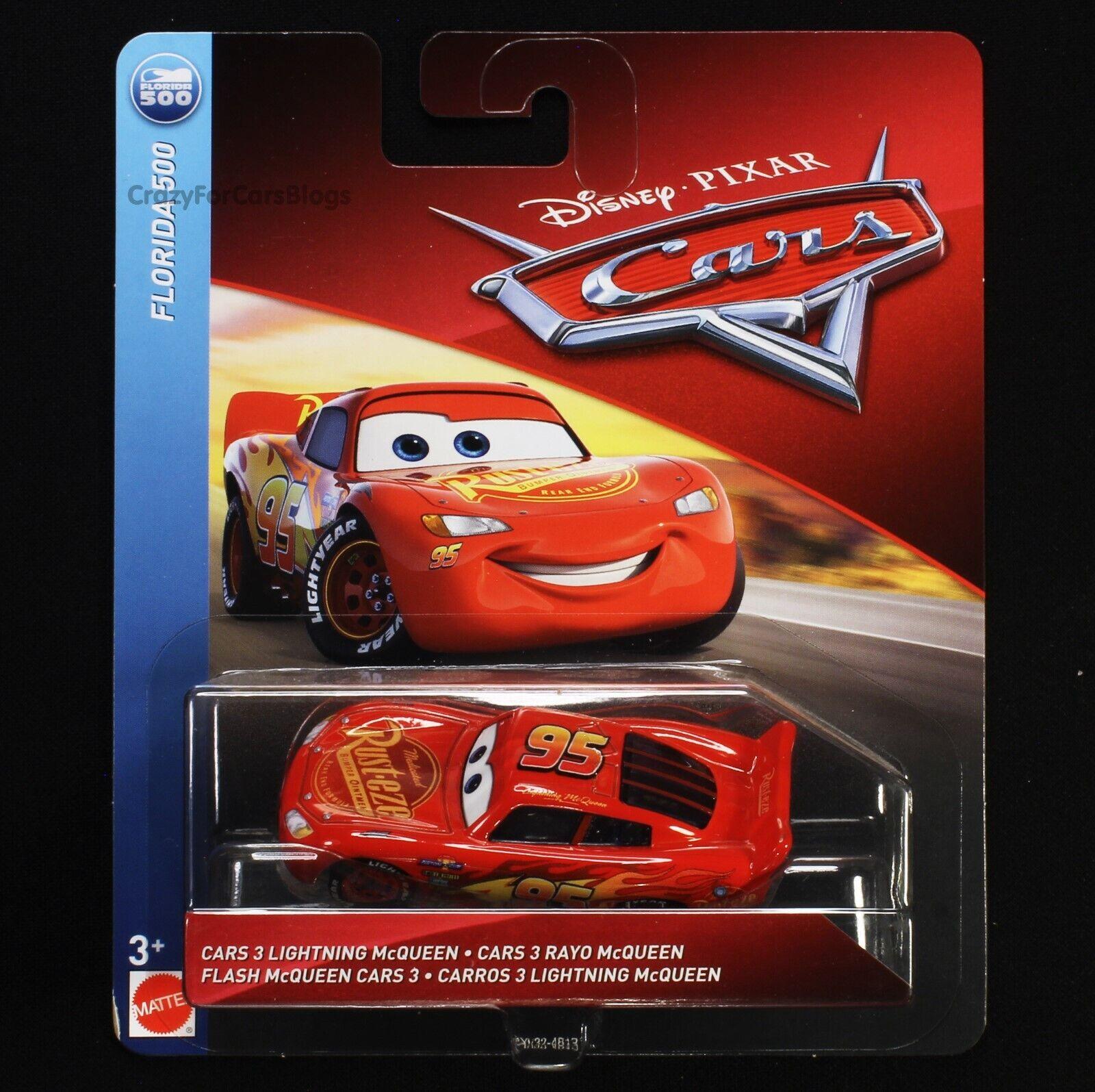 """""""Cars 3 Lightning McQueen"""" - Disney/Pixar Cars 3 Mattel 1:55"""