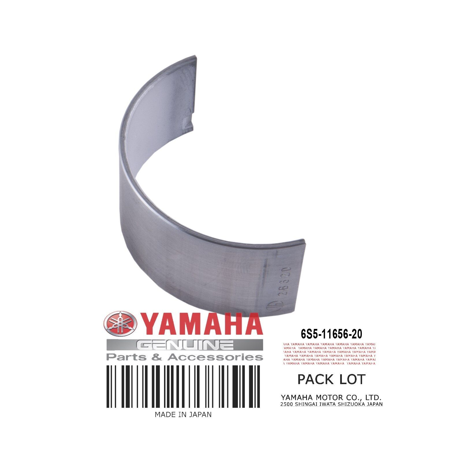 Yamaha OEM Plane Bearing 6S5-11656-30-00