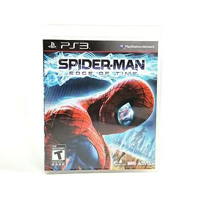 Spider-Man Spiderman Edge of Time PS3 Sony PlayStation 3 2011 SHIPPING ONLY $1!
