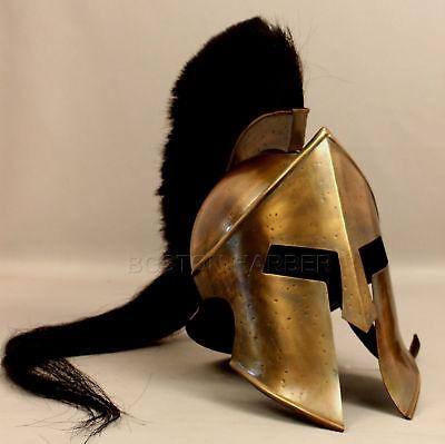300 King Leonidas Spartan Helmet Warrior Costume Medieval Helmet Liner Gift  - 300 Leonidas Costume
