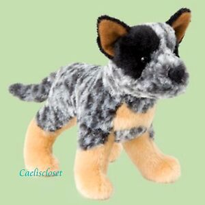 Douglas Plush Clanger AUSTRALIAN CATTLE DOG Stuffed Puppy Dog Cuddle Toy NEW
