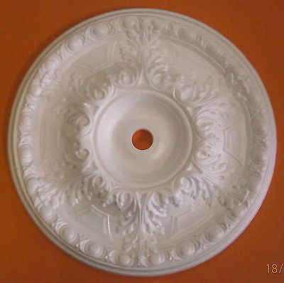 Decorators Bargain - Large Polystyrene Ceiling Rose 500mm//Slightly Shop Soiled