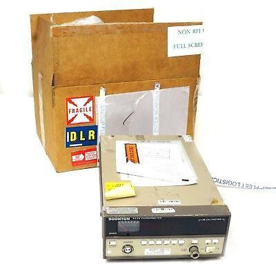 Boonton 4220-s3 Rf Power Meter -75.050.0 Dbm 100 Khz To 110 Ghz No Sensor
