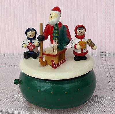 Weihnachten, Spieluhr - Spieldose, Holzverarbeitung.