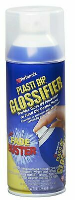 Clear Performix Plasti Dip Enhancer Glossifier Spray Gloss Rubber Coating -11oz.