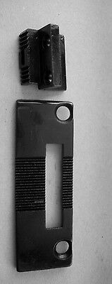 Singer Plate - NEEDLE PLATE and FEED DOG  for Singer 111G 111W 211G  211U 211W Consew 225 226