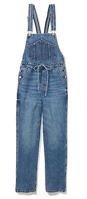 Vintage Overalls & Jumpsuits American Eagle Women's Baggy Denim Overalls, Size Medium $30.00 AT vintagedancer.com