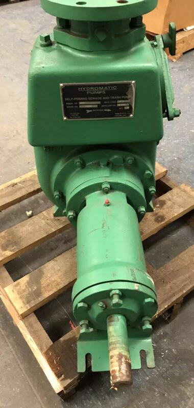 Hydromatic 40MP Self Priming Sewage and Trash Pump