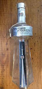 1969 CN tower whisky bottle