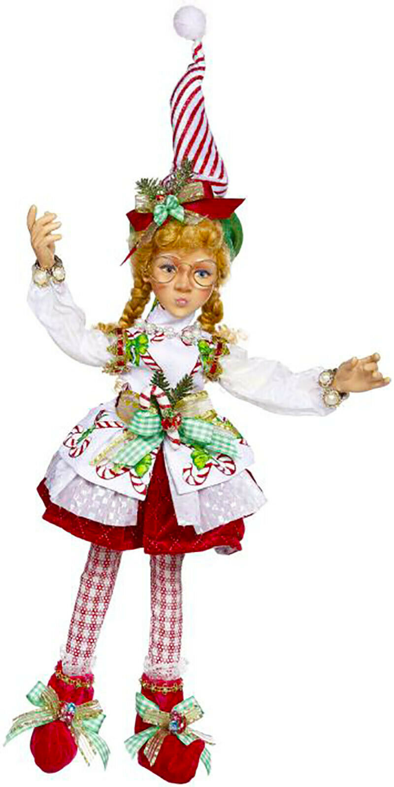 "[Mark Roberts Elves - North Pole Sweet Shop Elf 51-05630 Medium 17"" Figurine </Title]"