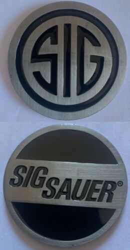 SIG SAUER CHALLENGE COIN SIGARMS 226 227 228 229 239 365 P320