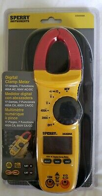 Nip Sperry Instruments Digital Clamp Meter 17 Ranges 7 Functions Dsa500a Bag
