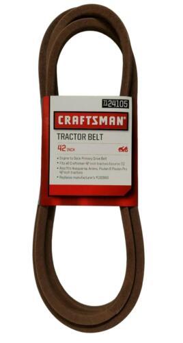 Craftsman OEM Lawnmower Engine To Deck Primary Belt 130969, 24105