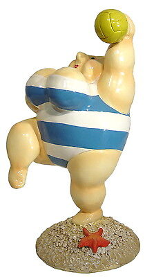 BIG & BEAUTY Beach-Ballspielerin - Dekoration - Figur (Big Beach Ball)