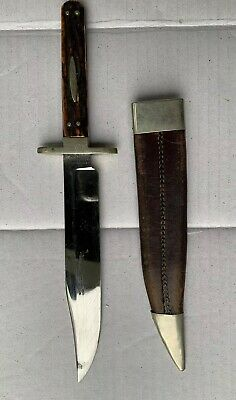 J RODGERS SHEFFIELD STAG BOWIE KNIFE