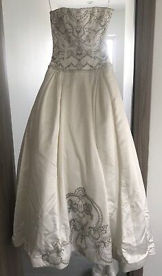 Authentic Reem Acra Ball Gown Dress Size 6 Retail Price  9750