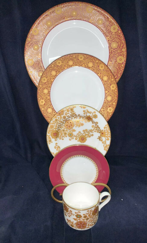 L by Lenox  Floral Magesty 5 Piece Place Setting**NEW**in Box.