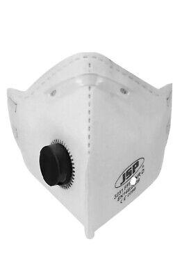 Atemschutzmaske FFP2 mit Ventil 1 Packung a (2xStück)Staubmaske Mundschutz Maske