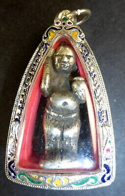KUMAN THONG CHILD SACRED BOY GHOST THAILAND VOODOO BARANG AMULET LUCK OCCULT