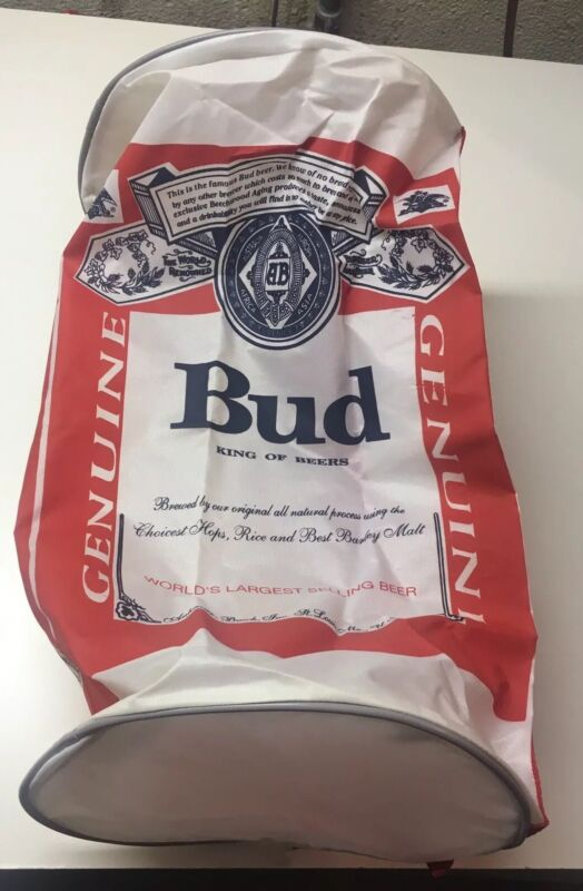 Budweiser Beer Duffle Bag - Collector's Item - New!