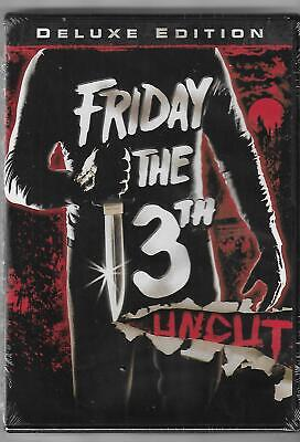 Friday the 13th - Part 1 (DVD, 2009, Uncut) Brand New Sealed 1980 Kevin -