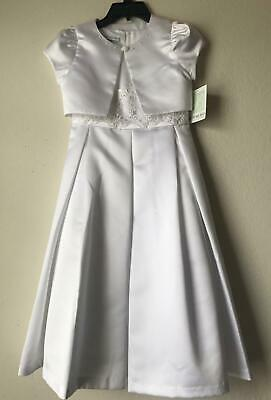 Girls Formal Dresses 7-16 (NWT $85 BONNIE JEAN BIG GIRLS 7-16 COMMUNION/FLOWER GIRLS DRESS WITH)