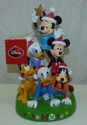 """11"""" Tall Disney KCare Mickey Mouse & Friends Pyramid Figurine HoHoHo Xmas Tree"""