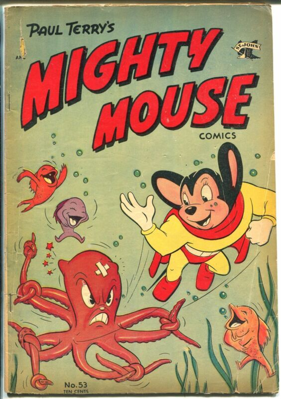 Mighty Mouse #53  1953 - St. John  -VG - Comic Book