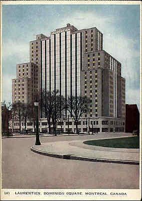 Montreal Kanada AK 1954  Laurentien Dominion Square Hochhaus Canada Frankatur