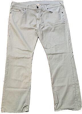 True Religion Men's Bobby Jeans Size 44 Twill Straight Leg Pockets