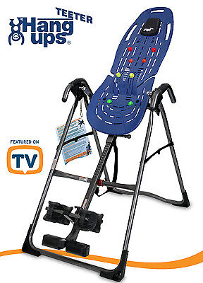 **Free Shipping** Teeter EP560 Ltd Inversion Table-Cert. Refurb -E64006-5Yr Wrty