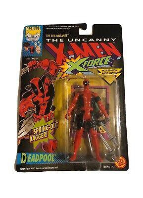 1992 Deadpool Toy Biz The Uncanny X-Men RARE MISPRINT X-Force NRFP RARE