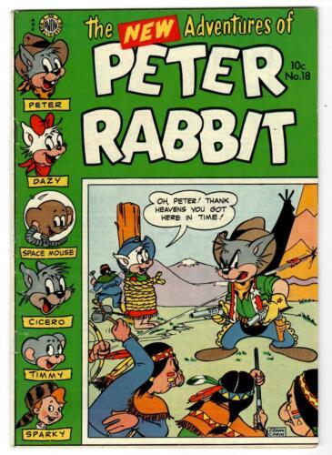 Peter Rabbit #18 Avon Publications Very Good
