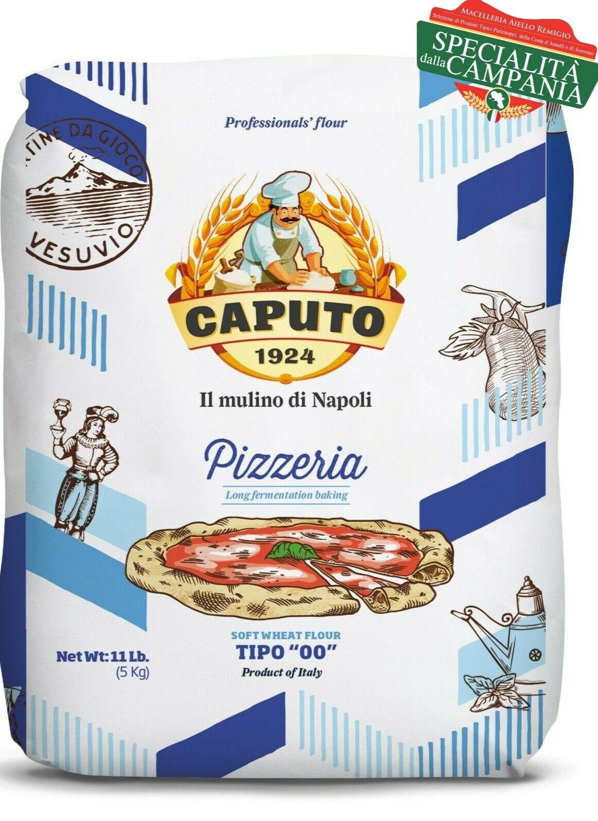 Farina  Caputo  Nuvola 3kg  +3kg Pizzeria + Rossa 3kg Pizza Napoletana Molino