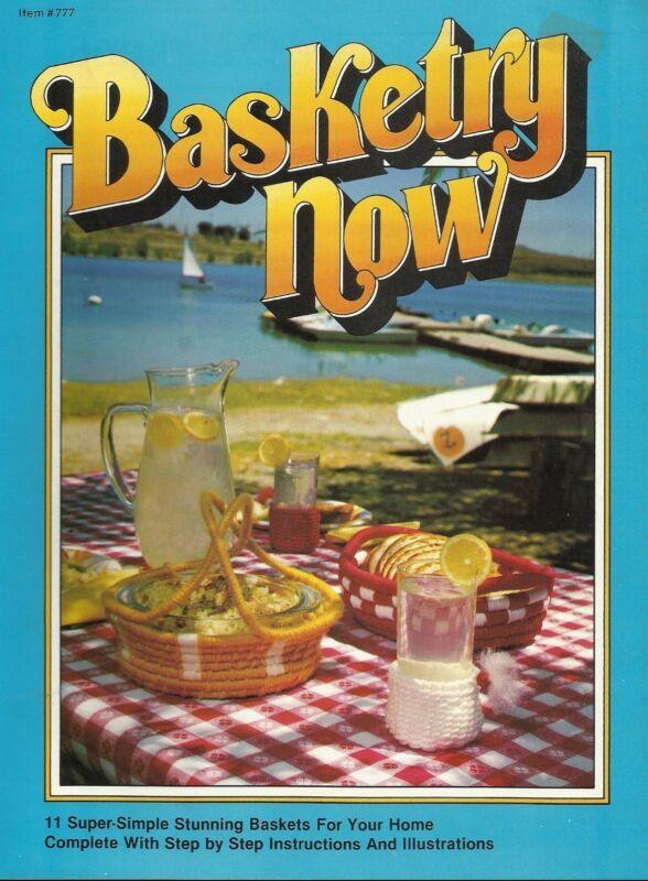 Basketry Now Pam Houk Vintage Basket Pattern Project Instruction Book NEW 1977