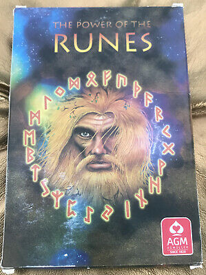 The Power Of The Runes By Voenix 25 Card Oracle Deck Plus Booklet Ancient Norse