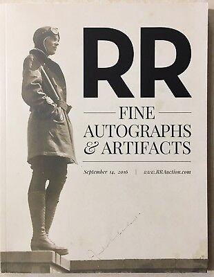 RR AUCTION CATALOG ENTERTAINMENT ART SPACE POP CULTURE HISTORICAL EARHART COVER