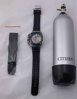 Citizen Promaster Aqualand Eco-Drive Diver Watch - In Box - Working