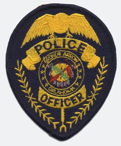 Broken Arrow, Oklahoma Police Patch VINTAGE