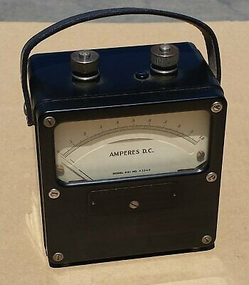 Vintage Weston Amperes D.c. Meter Model 931