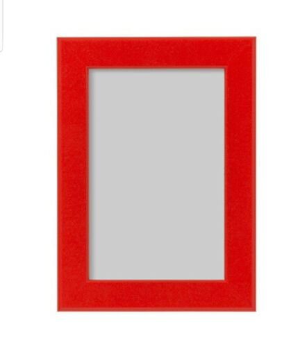 New IKEA FISKBO Frame Red 4x6 Picture Frame 102.956.57