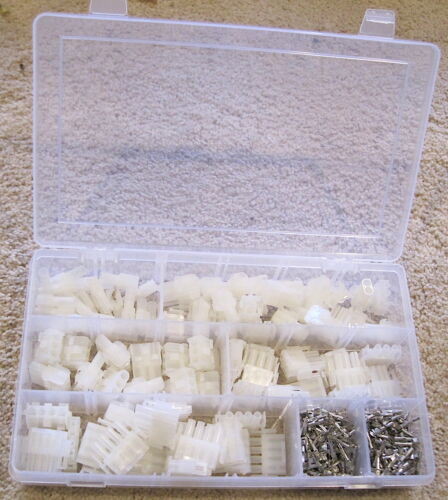 Molex MLX Connector and Terminal Kit 288 Pieces  2-6 Conductor