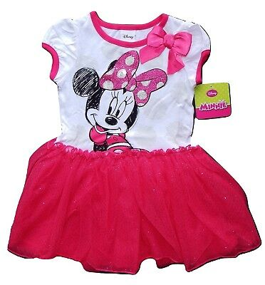 MINNIE MOUSE DISNEY Tutu Dress 1-Pc. Outfit Clothing Set Toddlers Size 3T  $36](Disney Tutu Outfits)