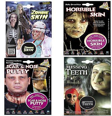 oween Make Up FX Skin Teeth Zombie Witch Putty Frankenstein (Special Effect Halloween-make-up)