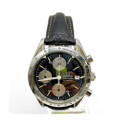 Omega Watch 175.0043 Speedmaster operates normally Men's Black 2004081