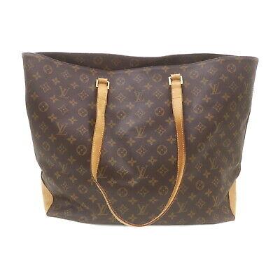 Louis Vuitton LV Tote Bag Cabas Alto M51152 Browns Monogram 1423921